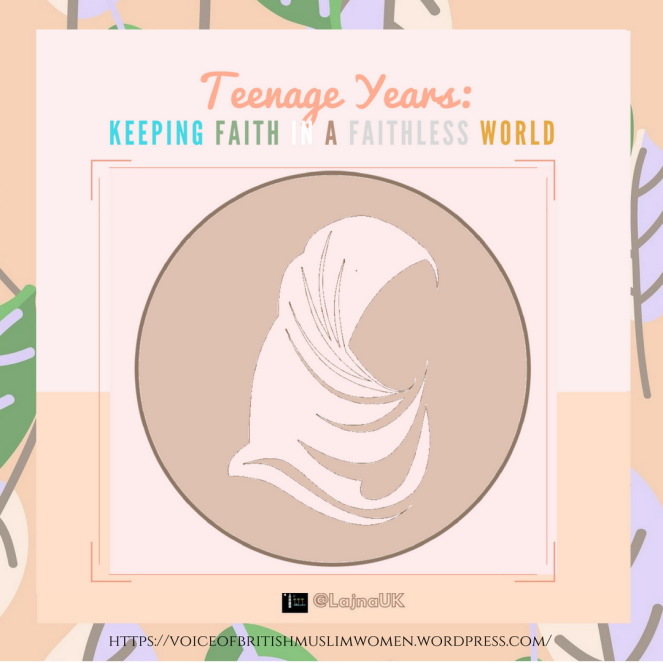 Teenage Years and Faith poster