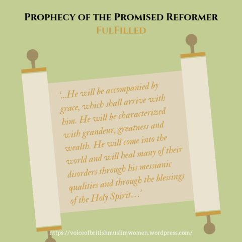 Prophecy of the Promised Reformer Fulfilled Blog