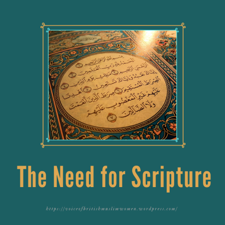 The Need for Scripture